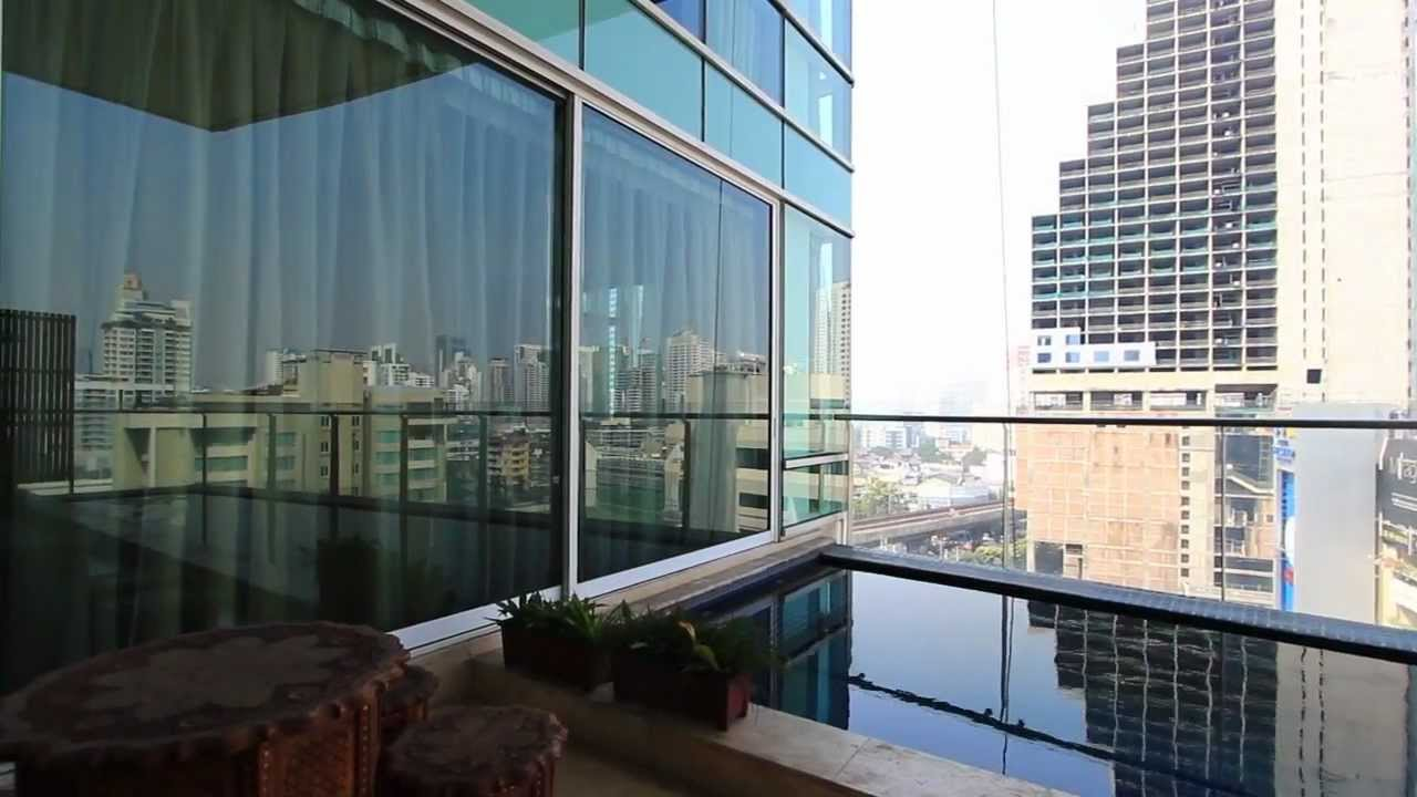 High Rise Condo With Private Pool For Rent Youtube
