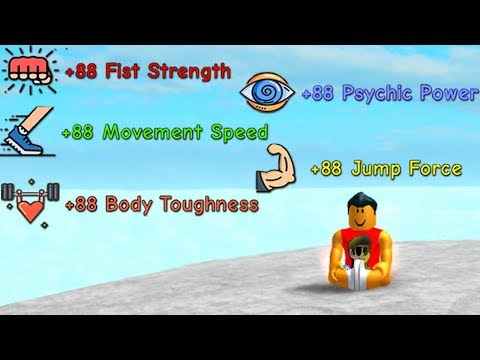 FASTEST WAY to Level-Up ALL SKILLS in Super Power Training Simulator