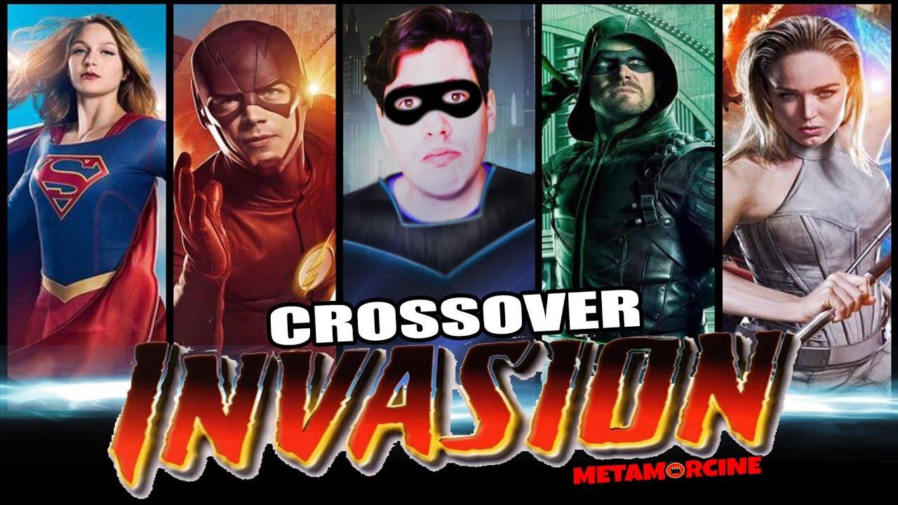 INVASION - CROSSOVER (Supergirl, Flash ,Arrow y Legends ...