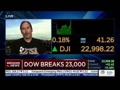 Paul Holland on CNBC, October 17th, 2017