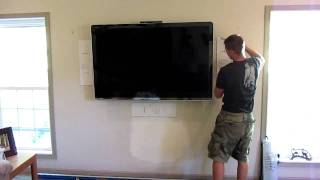 How To Install Flush Mount Wall Speakers  #2 - Home Theater - Ken Eppinette Elite Renovations LLC