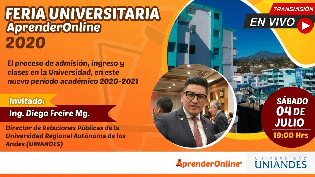 Feria Universitaria /  AprenderOnline 2020 / UNIANDES