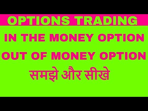 Options trading  – In The Money Option/Out Of Money Option – हिंदी में