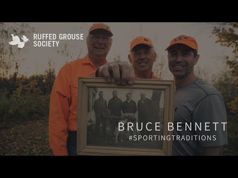 #SportingTraditions - Bruce Bennett - RGS & Project Upland