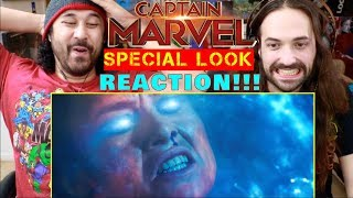 Marvel Studios' CAPTAIN MARVEL | SPECIAL LOOK - REACTION!!!