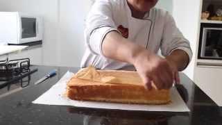Como fazer Pão de Ló para Bolos de Aniversário - Sem Fermento