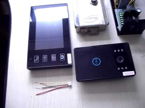 Wireless Door Bell Phone How To Install The Electric Lock