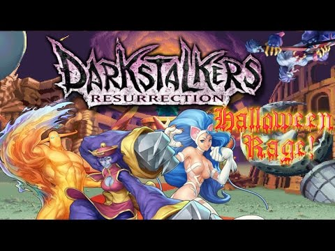 Darkstalkers Resurrection: Halloween Rage!