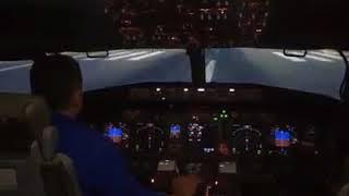 Trabzon'daki uçak kazası simülasyonu!