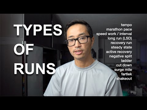 Running Terms Defined: Part 1 Types of Runs