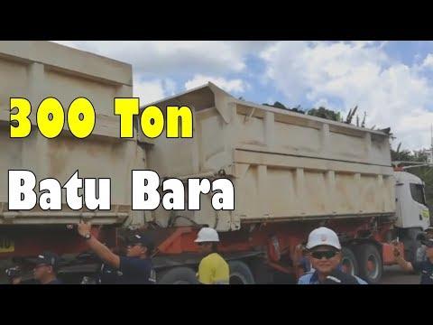(Long Truck) Batu Bara 300 Ton Sekali Angkut