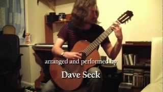 """Somewhere Over The Rainbow"" - solo guitar arrangement by Dave Seck"