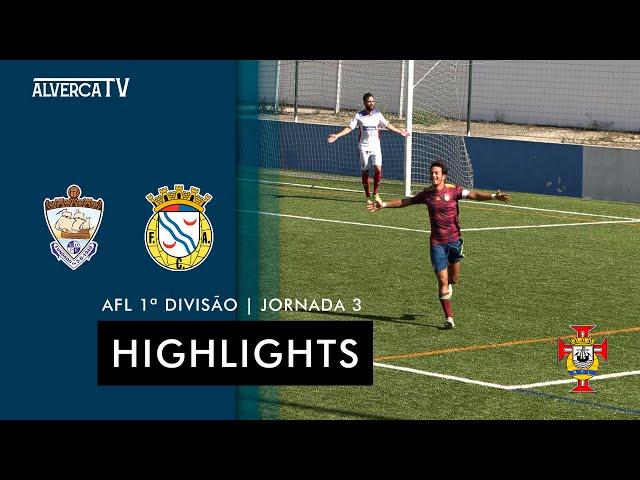 Ponte de Frielas 1-5 FC Alverca B | Highlights