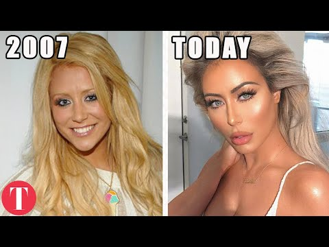 15 Famous People Who Are Unrecognizable Today
