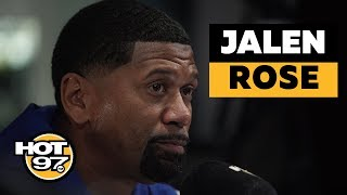Jalen Rose On LaVar Ball, Stephen A. Smith, Knicks & Colin Kaepernick