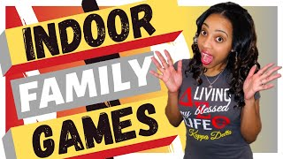 7 FUN INDOOR FAMILY GAMES TO PLAY AT HOME as QUARANTINE GAMES