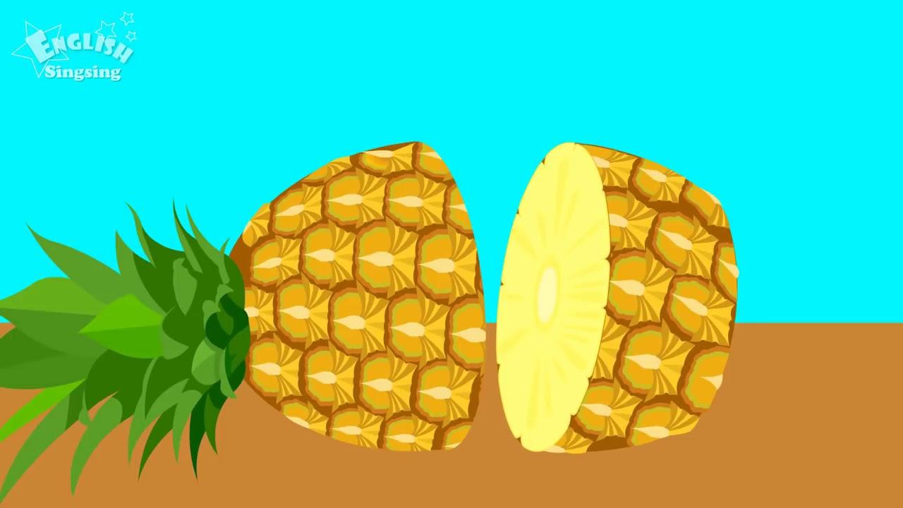 Фрукты и овощи английский для детей, обучение - YouTube