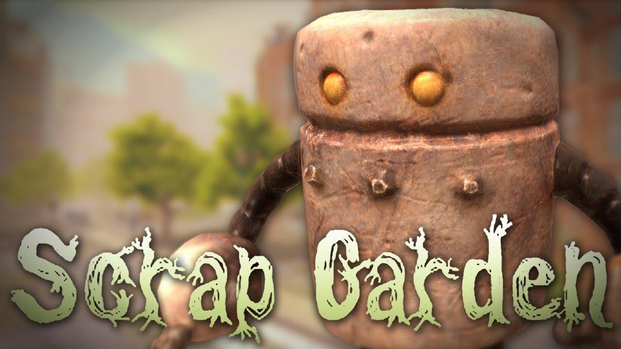 scrap garden gameplay part 1 this game looks awesome - Scrap Garden