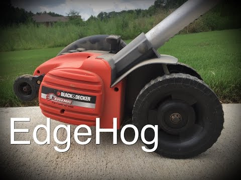Black and Decker EdgeHog edger..