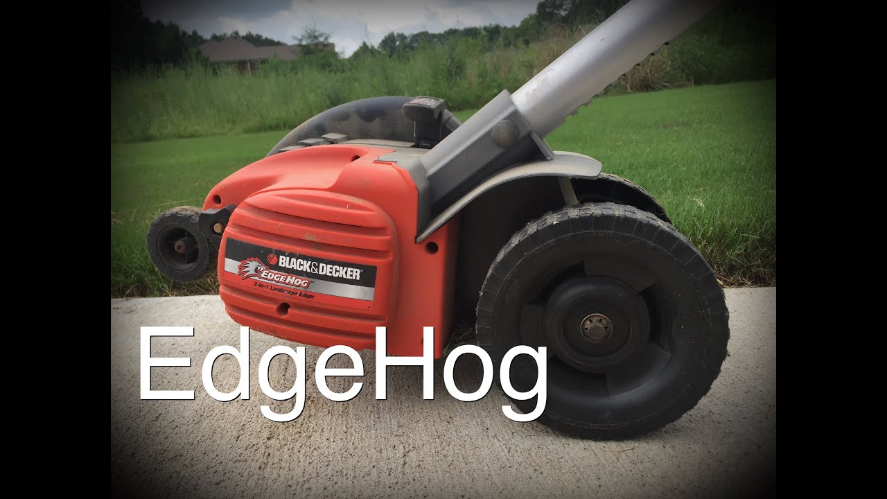 black and decker edgehog edger 3 year review youtube. Black Bedroom Furniture Sets. Home Design Ideas