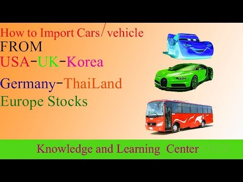 how to import cars from usa uk korea thailand germany. Black Bedroom Furniture Sets. Home Design Ideas