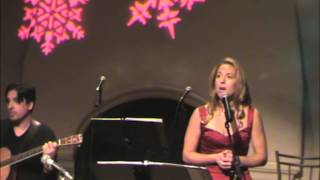 """""""O Holy Night"""" performed by Maria Vargo Fireside Christmas Concert 2012"""