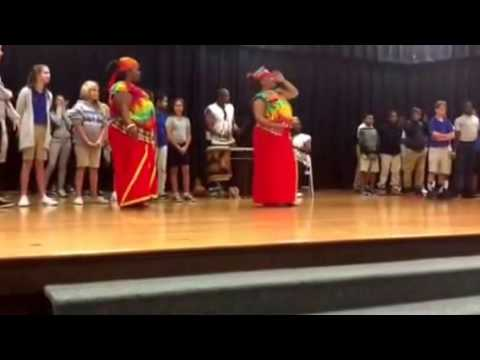 Clarkton School of Discovery African Dance Ensemble October 21, 2016