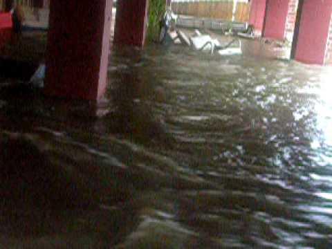 Hurricane Gustav in Venetian Isles (New Orleans)