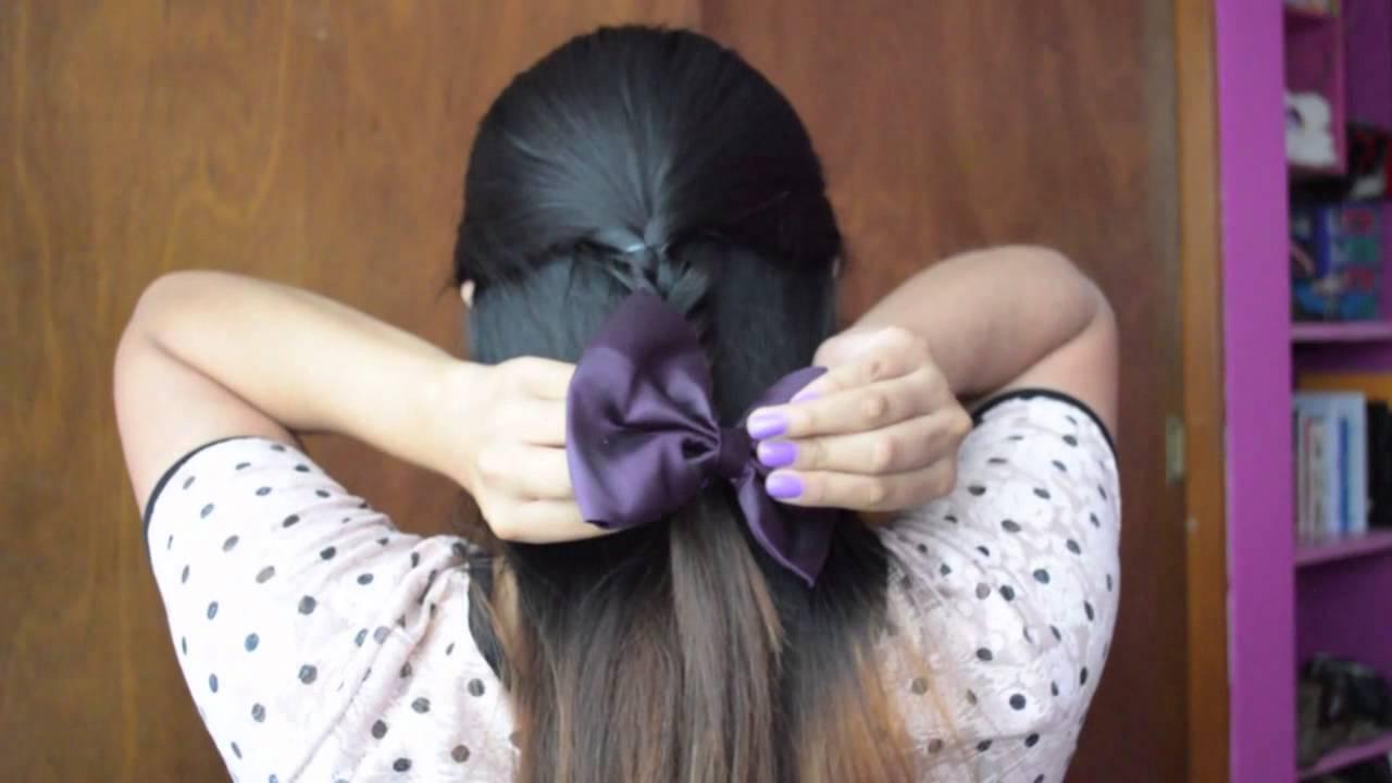 Peinados para el regreso a clases faciles y bonitos - Peinados faciles y bonitos ...