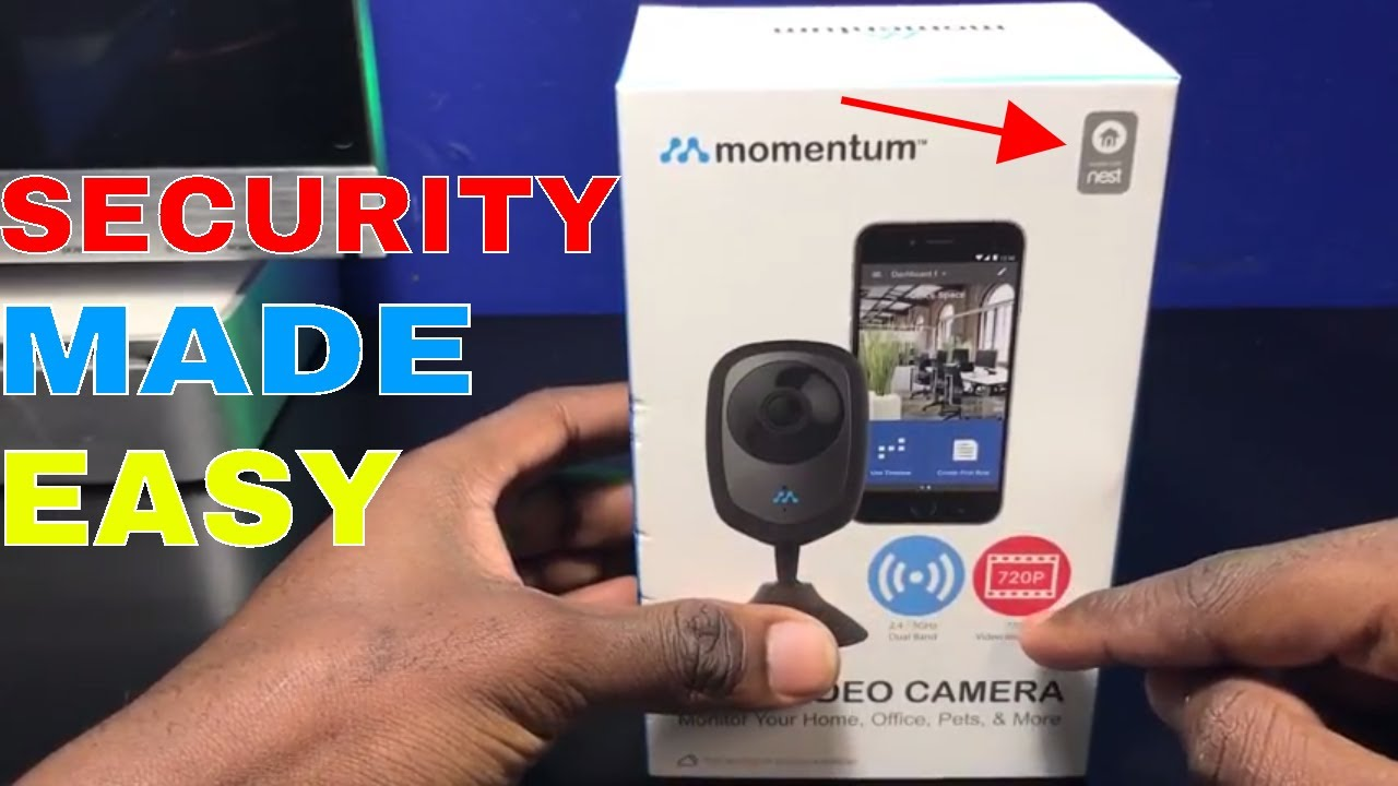 Momentum Wi-Fi Home Security Video Camera Review - Part 1 | MOMENTUM | Get  Fixed