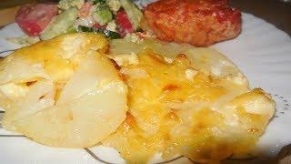 ✅Пикантно-сочный картофель в духовке/Очень вкусный рецепт картошки в духовке