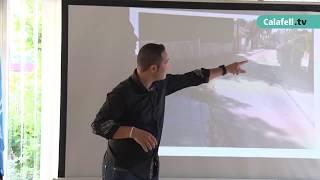 Sessió informativa del pla de renovació de voreres de Segur de Calafell