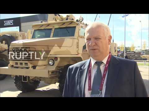 Russia: Brand new Floks artillery system unveiled at Army-2016 expo