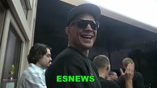 Nate Diaz Was Off Three Years Still Was Sharper Fighter  EsNews Boxing