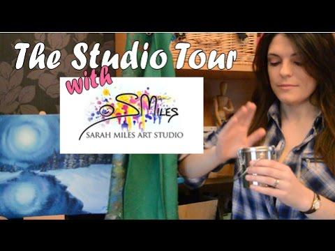 Art Studio Tour with Sarah Miles