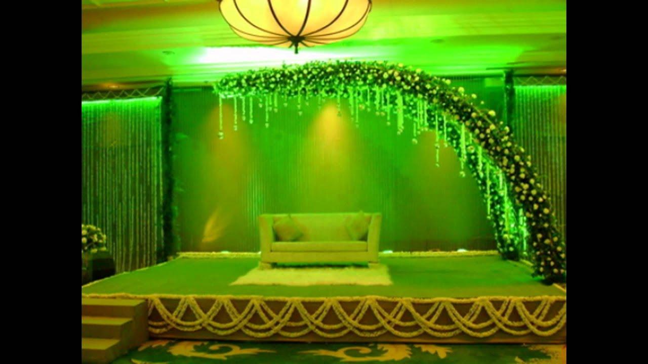 Madurai Decorators Crystal Stage Decoration Youtube