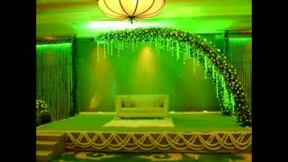 Madurai Decorators Crystal Stage Decoration