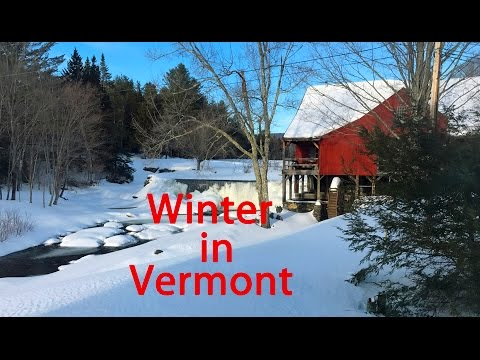 Winter in Vermont - Pat and Penny's Travel Channel