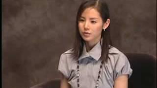 小西真奈美(konishi manami)電影 死神的精度 節目獨訪.
