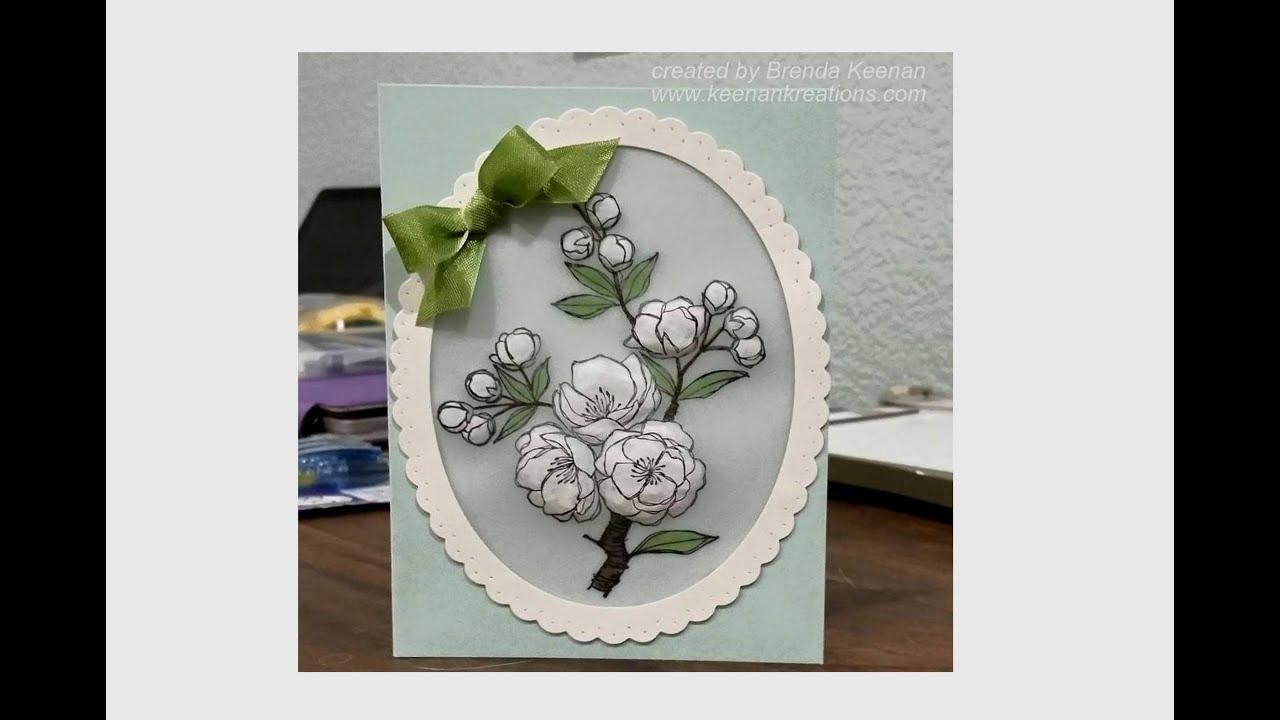 Card Making Ideas Using Vellum Part - 40: Easy Embossed Vellum