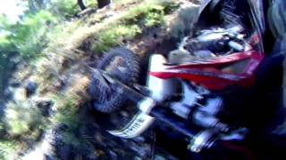 ENDURO TRIAL IN IMMITOS part 2