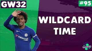 WILDCARD TIME | Gameweek 32 | Let's Talk Fantasy Premier League 2017/18 #95