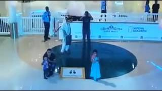 7D Laser Animal Show at Dubai Mall