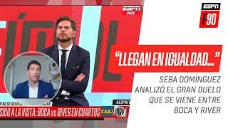 Seba #Domínguez no tiene dudas del #Superclásico: