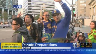Warriors Fans Line Up Early For 3rd Championship Parade In 4 Years