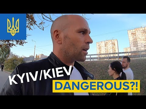 KYIV/KIEV UKRAINE - WHERE IS IT DANGEROUS?!  🇺🇦