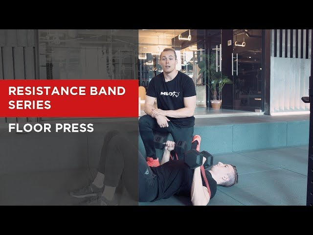 SERIES: Dumbbell Floor Press