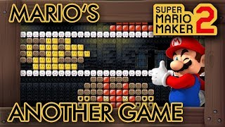 "Gambar cover Super Mario Maker 2 - Fun ""Mario's Another Game"" Level"