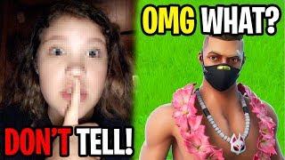 He Revealed My Ex Girlfriends BIGGEST Secret... (Fortnite)