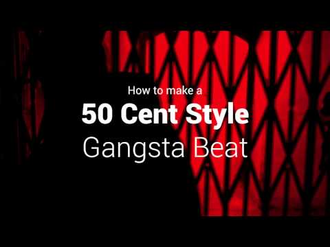 Beatmaking Tutorial 50 Cent Type Gangster FL Studio